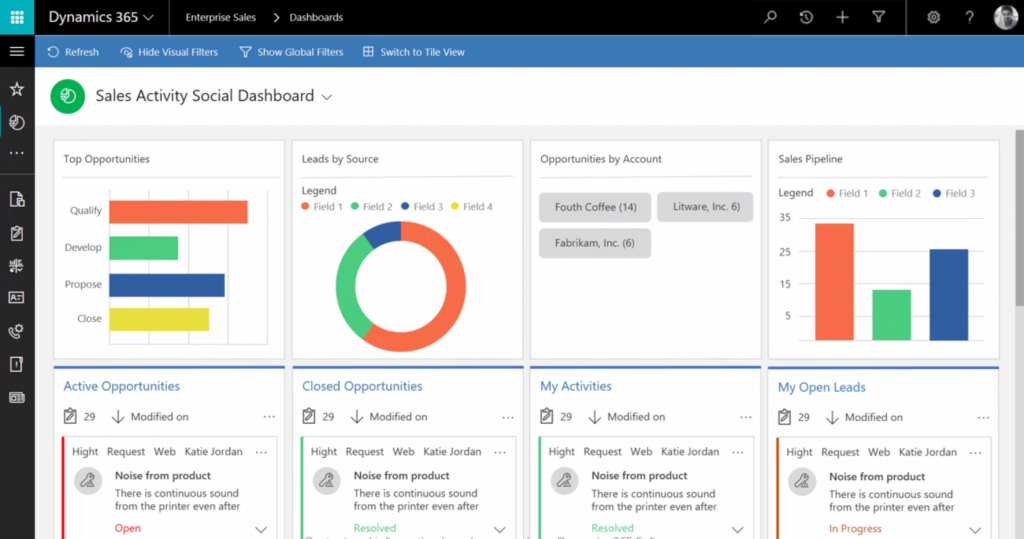 microsoft dynamics 365 business edition unified interface intersys blog