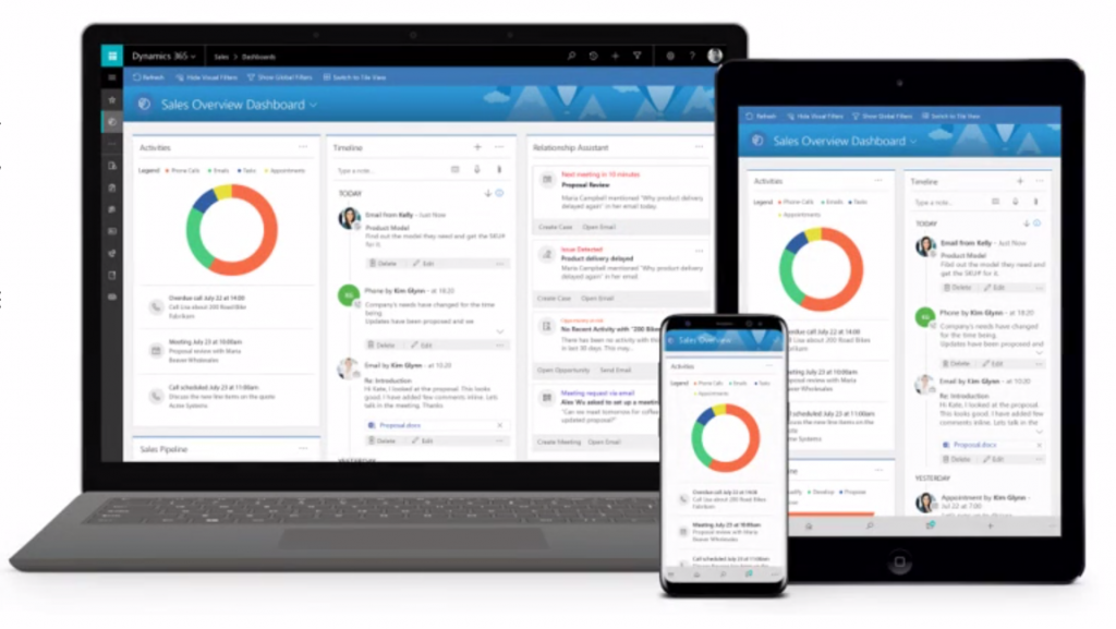 microsoft dynamics 365 business edition interface mobile intersys blog