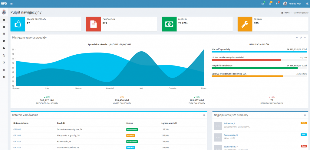 new experience for dynamics intersys dashboard pulpit