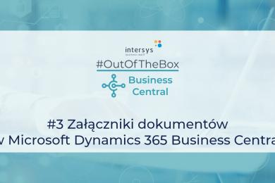 Załączniki dokumentów w Microsoft Dynamics 365 Business Central