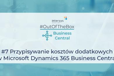 Przypisywanie kosztów dodatkowych w Microsoft Dynamics 365 Business Central