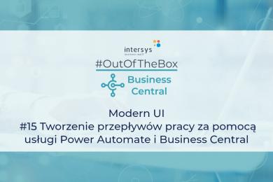 Tworzenie przepływów pracy za pomocą usługi Power Automate i Business Central