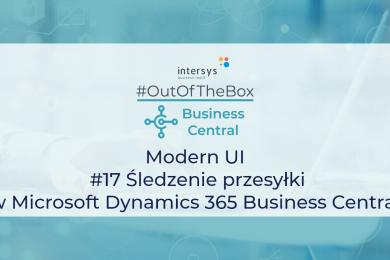 Śledzenie przesyłki w Microsoft Dynamics 365 Business Central