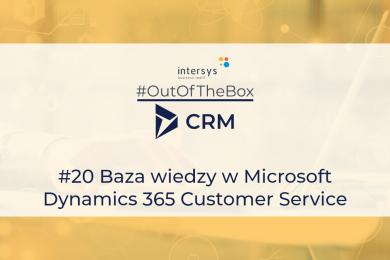 Baza wiedzy w Microsoft Dynamics 365 Customer Service