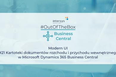 Kartoteki dokumentów rozchodu i przychodu wewnętrznego w Microsoft Dynamics 365 Business Central