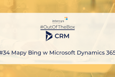 Mapy Bing w Microsoft Dynamics 365